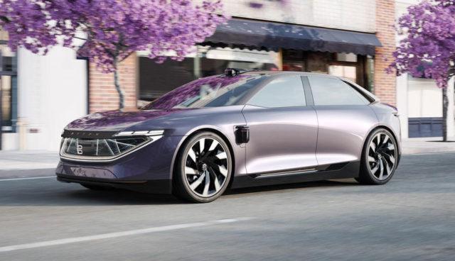 Byton stellt Elektroauto-Limousine K-Byte vor