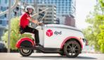 DPD liefert Pakete mit Elektro-Dreirad direkt an die Haustür