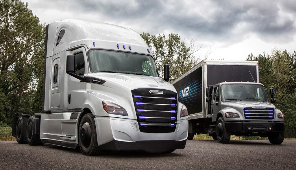 Daimler-Freightliner-Elektro-Lkw