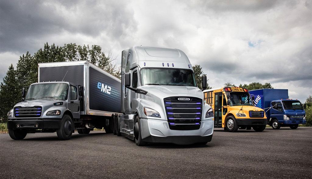 Daimler bringt E-Freightliner auf den US-Markt