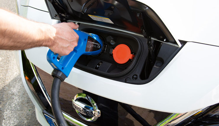 EU-Elektroauto-Ladestationen