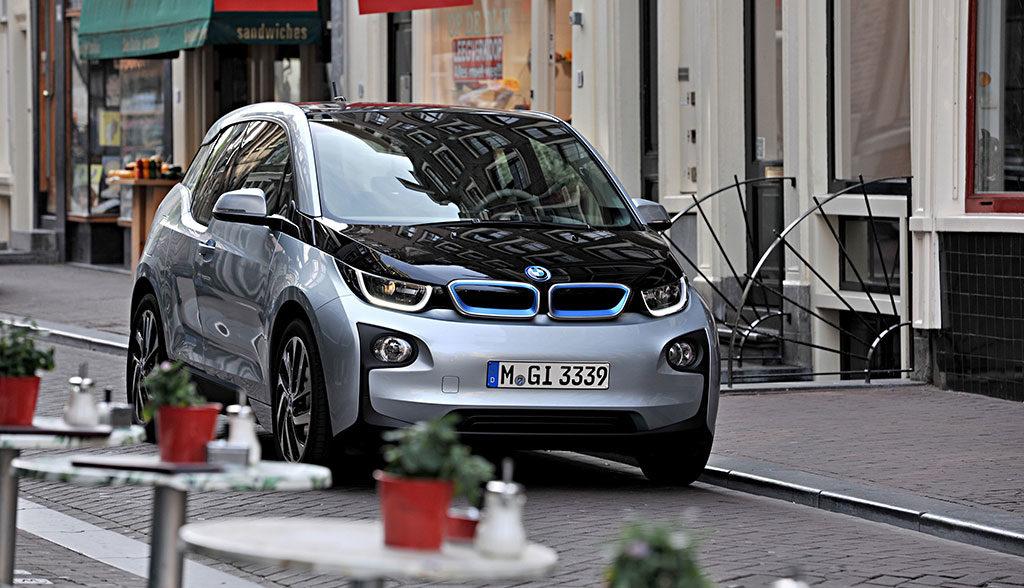 Elektroauto-Reifen-Laerm