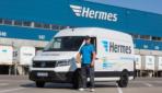 Hermes testet Elektro-Transporter VW e-Crafter in Hannover und Frankfurt
