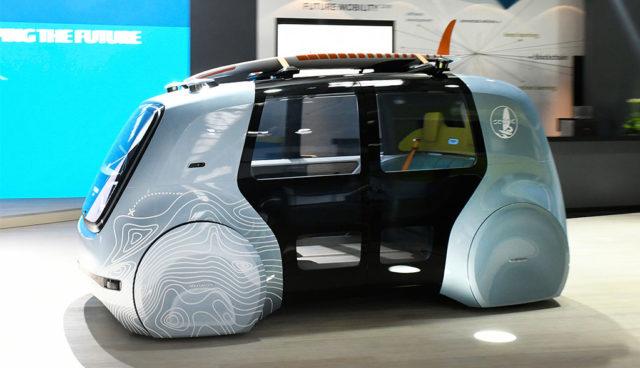 VW SEDRIC Active: Selbstfahr-Stromer für Aktivsportler