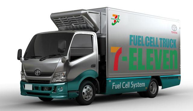 Toyota-Wasserstoff-Lkw-Seven-Eleven