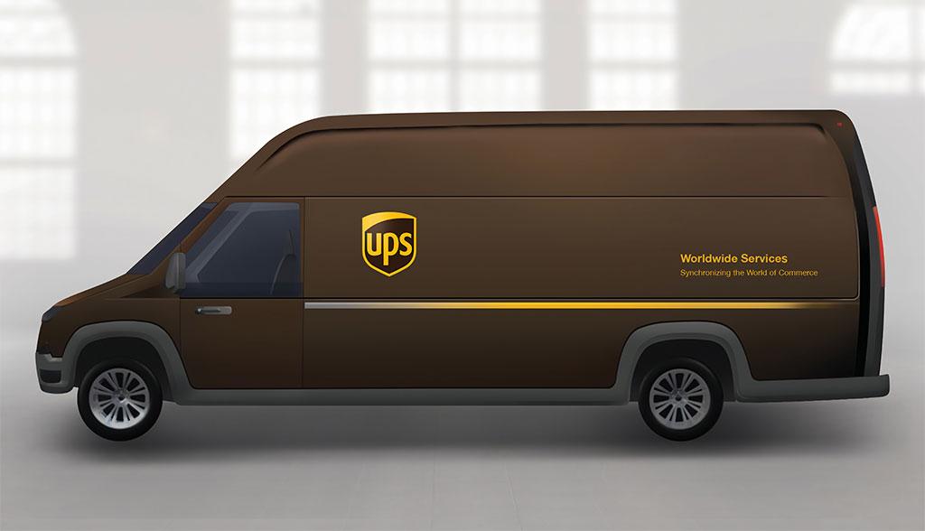 ups bestellt 950 elektro transporter bei us startup. Black Bedroom Furniture Sets. Home Design Ideas