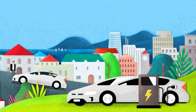 Uber-Elektroauto