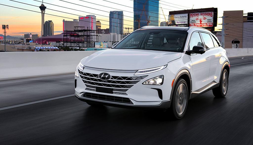 Wasserstoff-Elektroauto-Hyundai