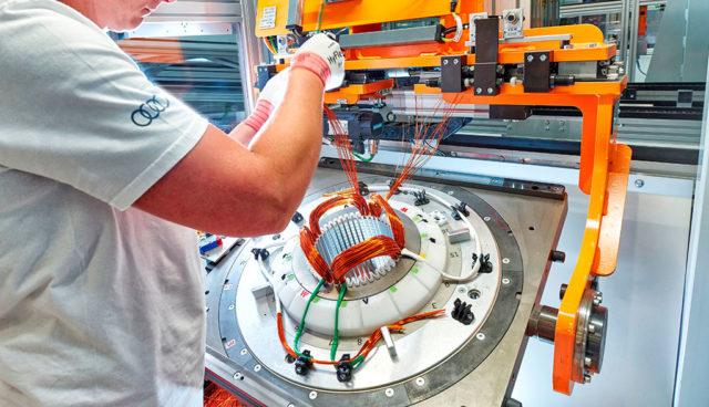 Audi startet E-Motor-Produktion in Ungarn