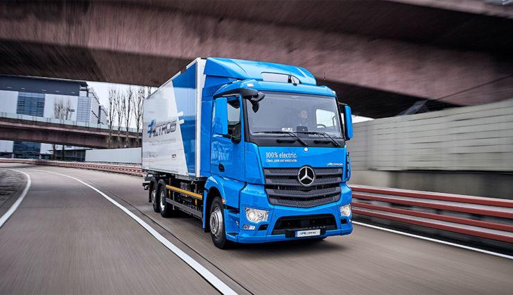 Daimler-Lkw-Diesel-Elektro