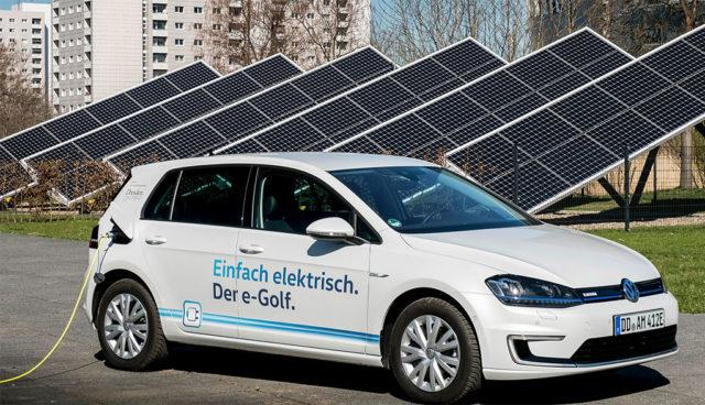 Elektroauto-Solarstrom