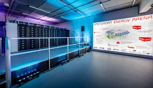 Amsterdam: 3-Megawatt-Energiespeicher mit Elektroauto-Akkus geht ans Netz