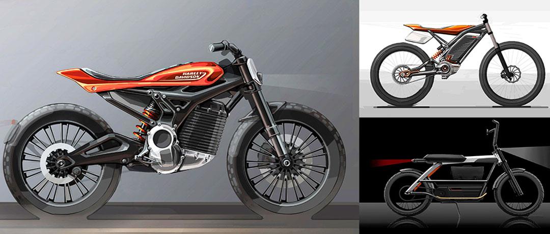 Harley-Davidson-Elektro-Motorraeder