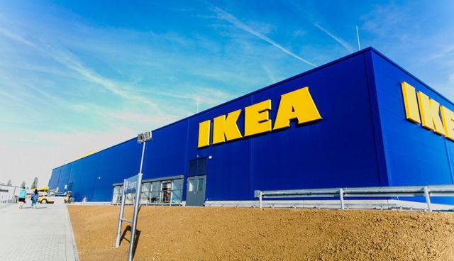 Ikea-Elektroauto-Ladestation