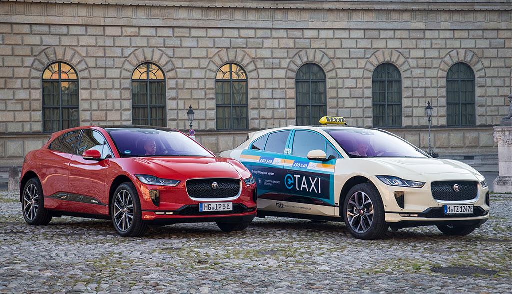 Jaguar-I-Pace-Taxi-Muenchen