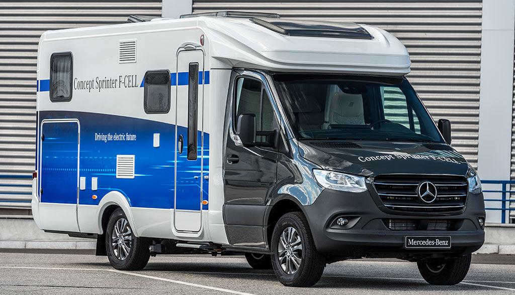 Mercedes-Sprinter-Wasserstoff-Brennstoffzelle