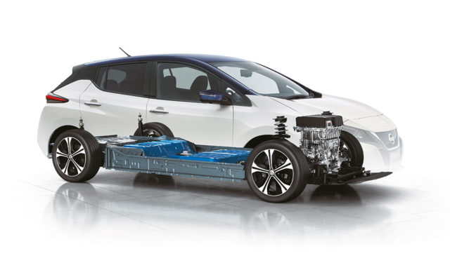 Nissan-Batterieproduktion