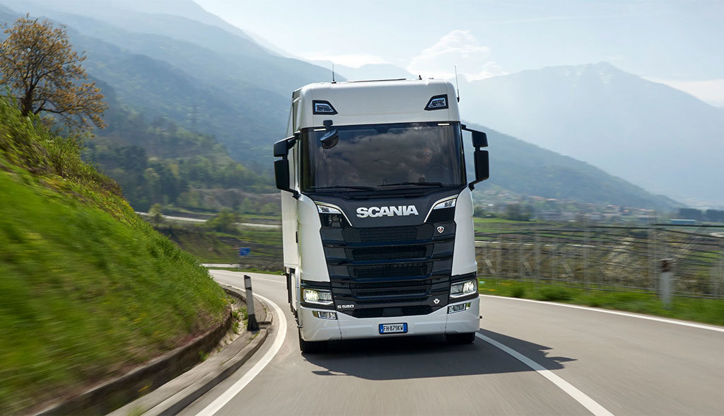Scania-CO2-Transport