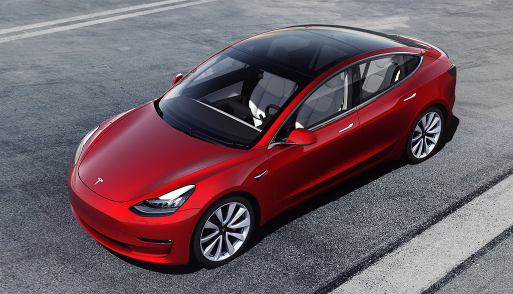 tesla model 3 neue bilder details zur sportversion. Black Bedroom Furniture Sets. Home Design Ideas