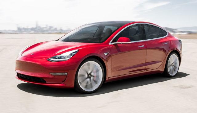 Tesla Model 3: Neue Bilder & Details zur Sportversion
