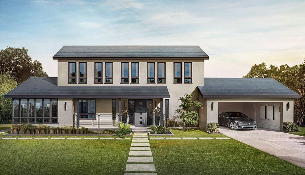 Tesla-Solar-Dachziegel