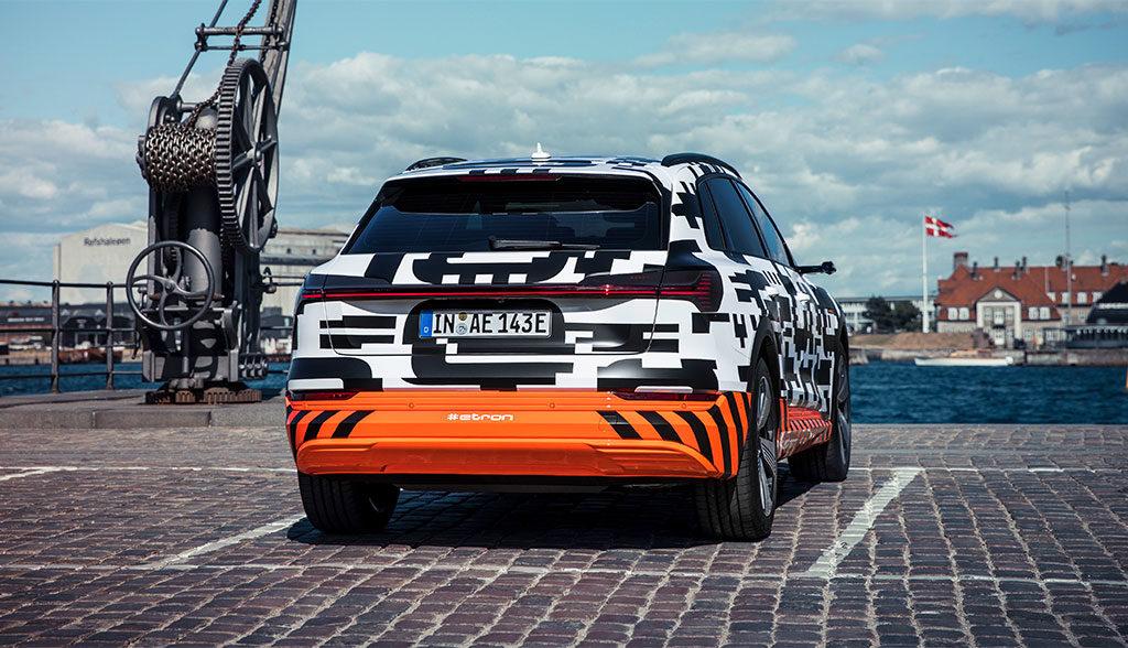Audi-Elektroauto-Reichweite