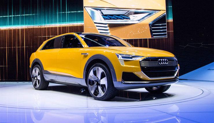 Audi-Wasserstoff-Elektroauto