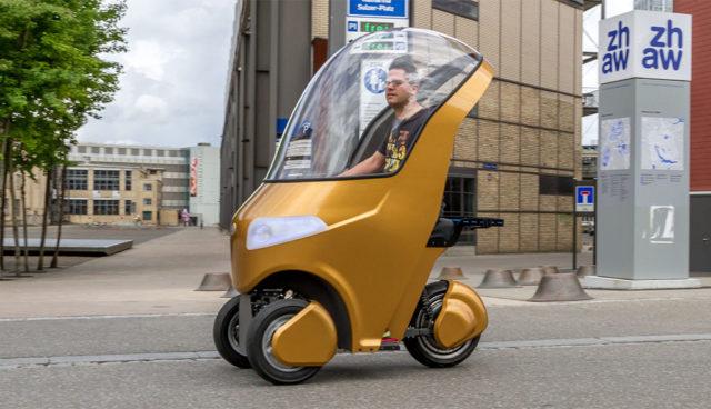 BICAR-Elektroauto-Fahrrad