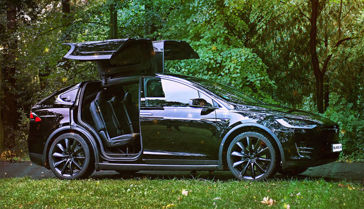 Blacklane-Tesla-Elektroauto