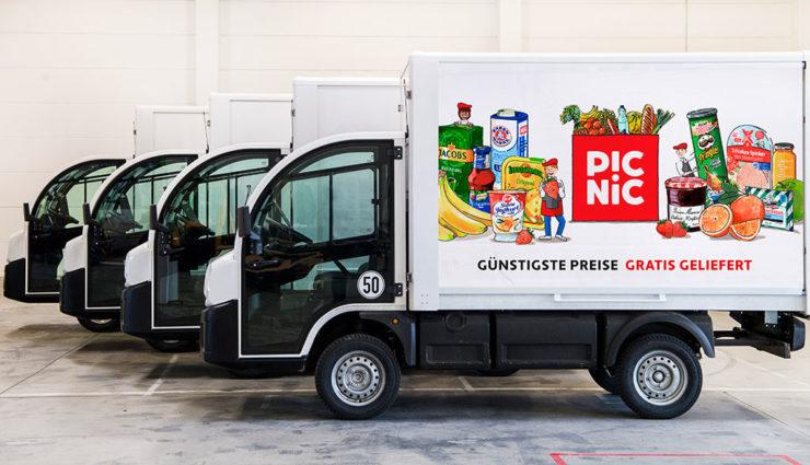 Elektro-Lieferdienst Picnic expandiert in Deutschland
