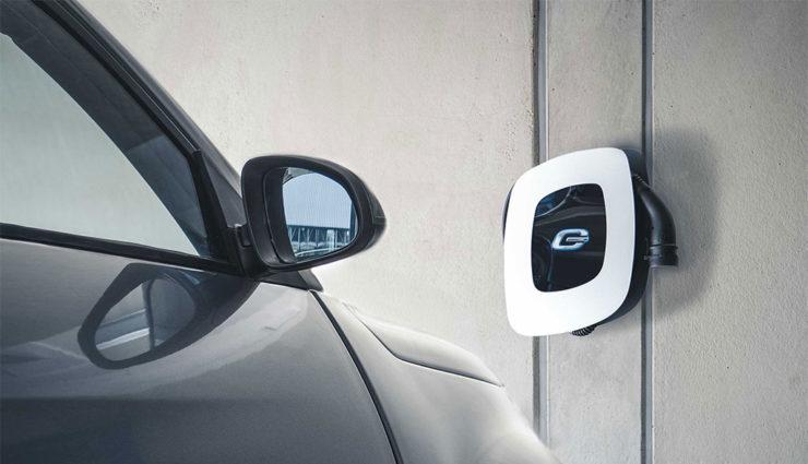 Elektroauto-Wall-Box