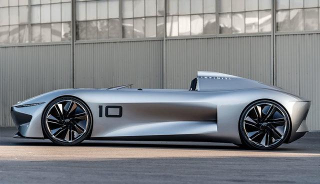 Infiniti präsentiert Elektroauto-Roadster Prototype 10