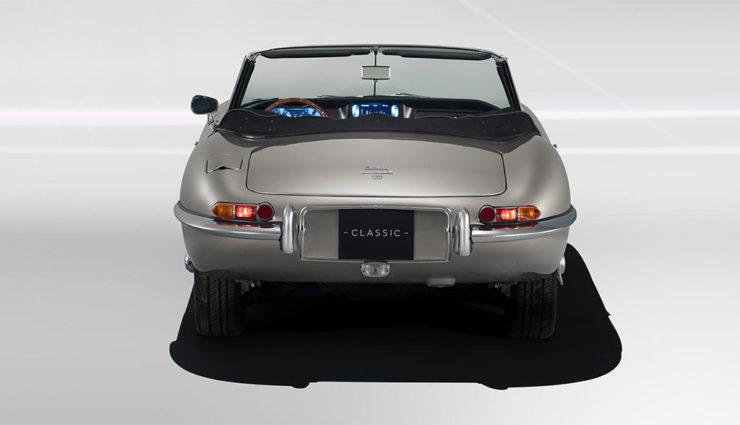 Jaguar E-Type Zero Elektroauto 2020-1-2