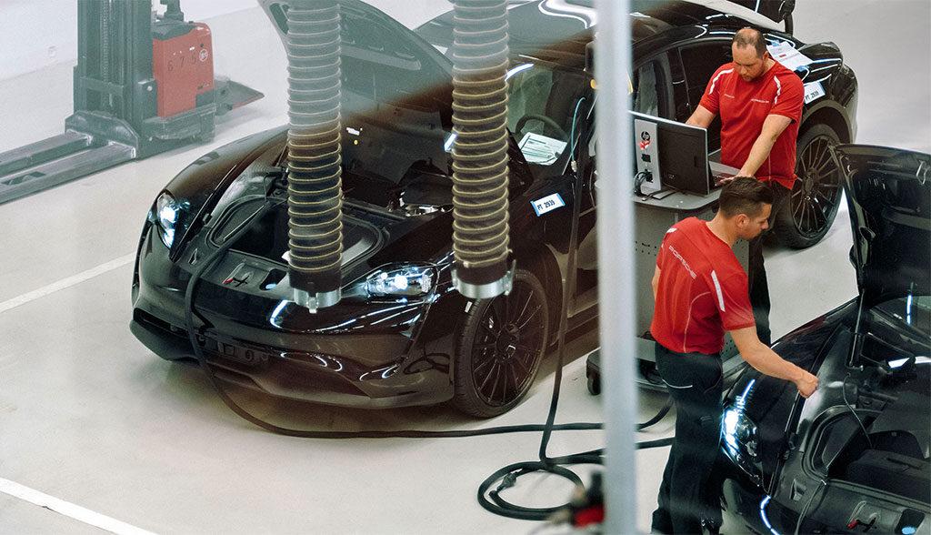 Porsche-Elektroauto