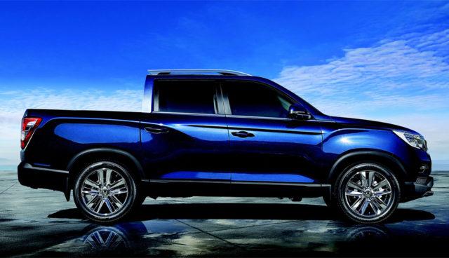 SsangYong plant Elektroauto-Pickup mit 450 Kilometern Reichweite
