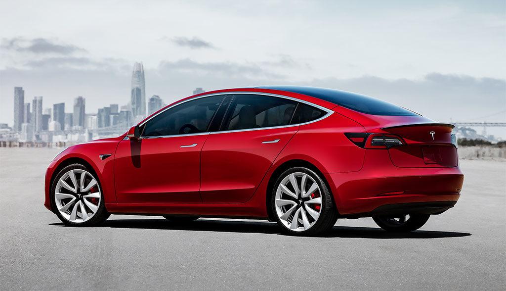 Tesla-Volkswagen-Elektroauto