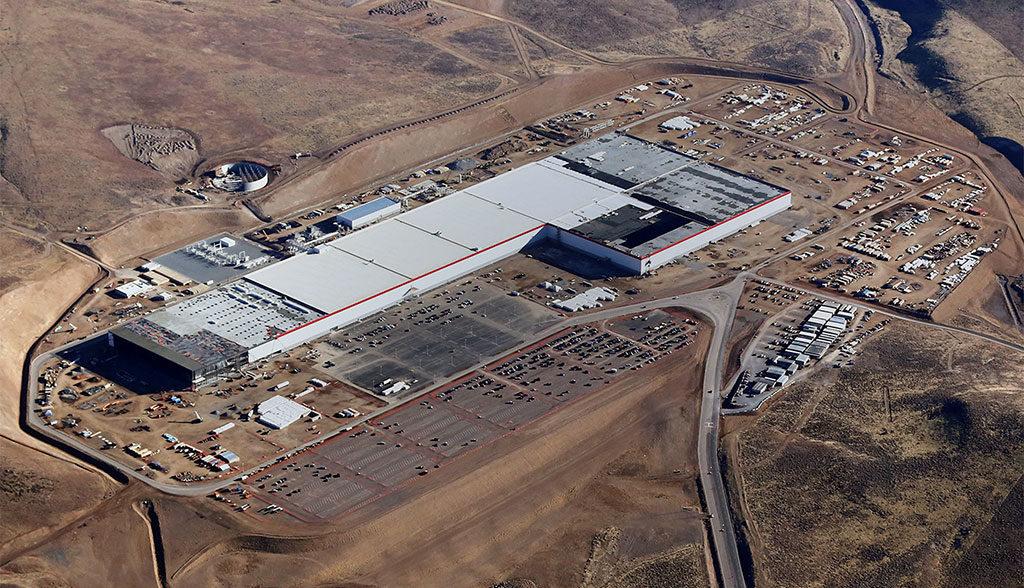 Tesla-Zellproduktion