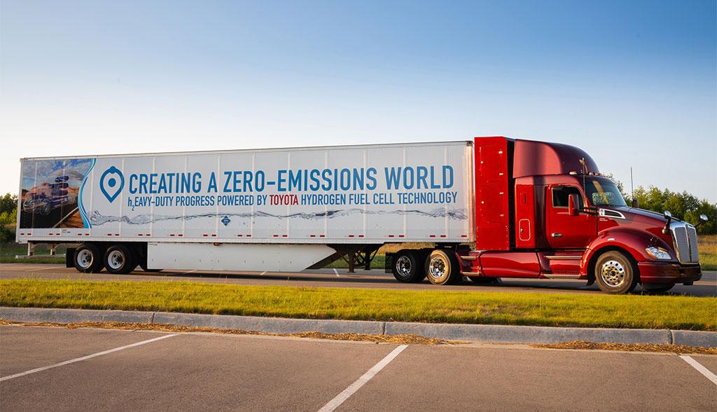 Toyota Brennstoffzellen-Lkw