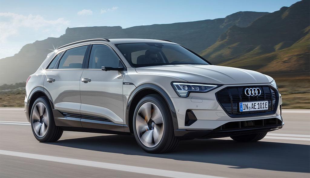 Audi-Elektroauto-Tesla