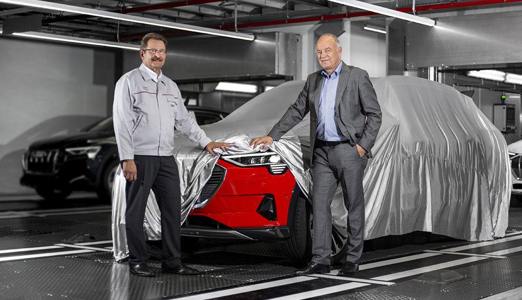 Audi-e-tron-Produktionsstart