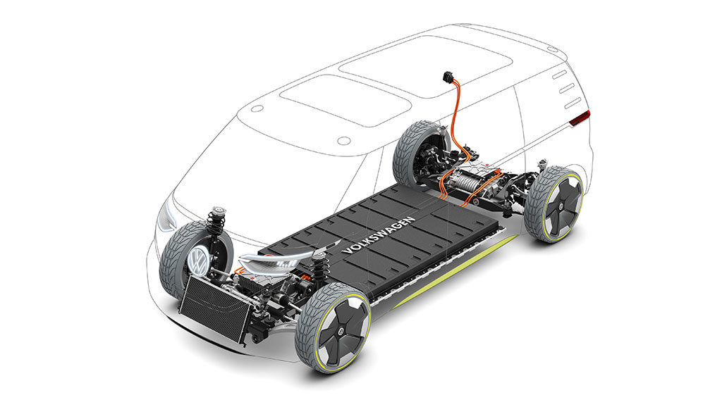 Elektroauto-Batteriezelle-Fertigung