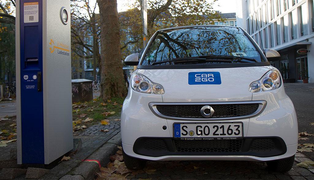 Elektroauto-Stuttgart
