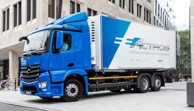 """Autoverband VDA: """"Elektromobilität selbst bei schweren Lkw auf dem Vormarsch"""""""