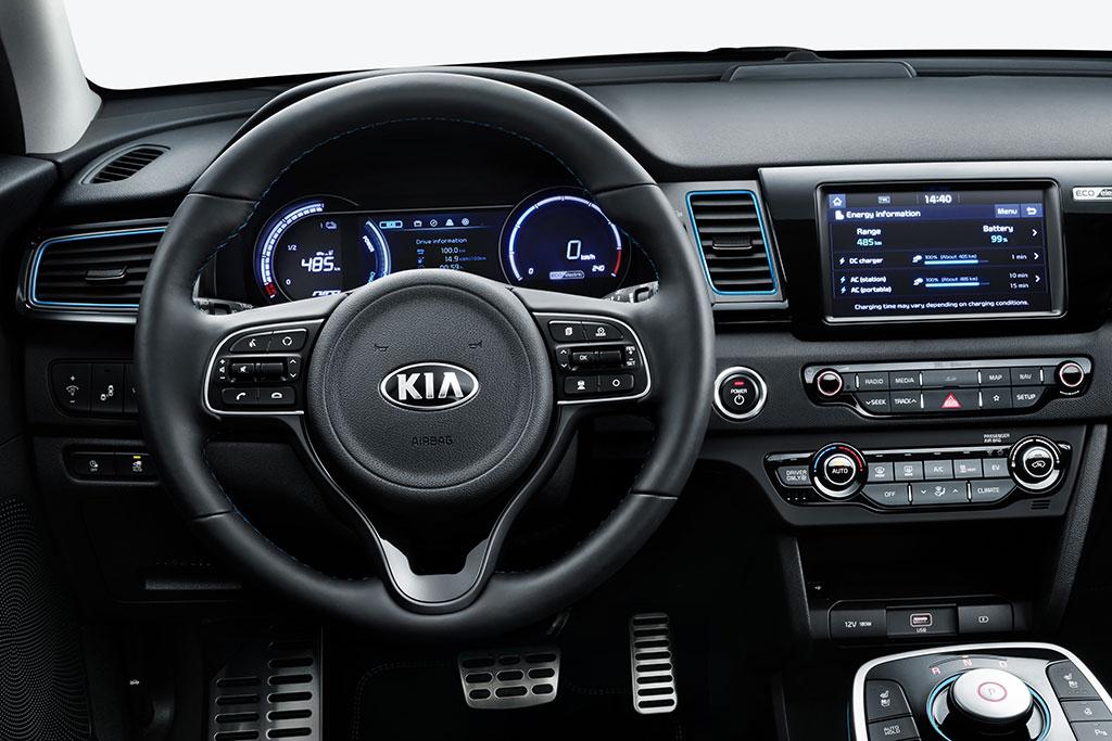 Kia-Niro-EV-Elektroauto-Innen