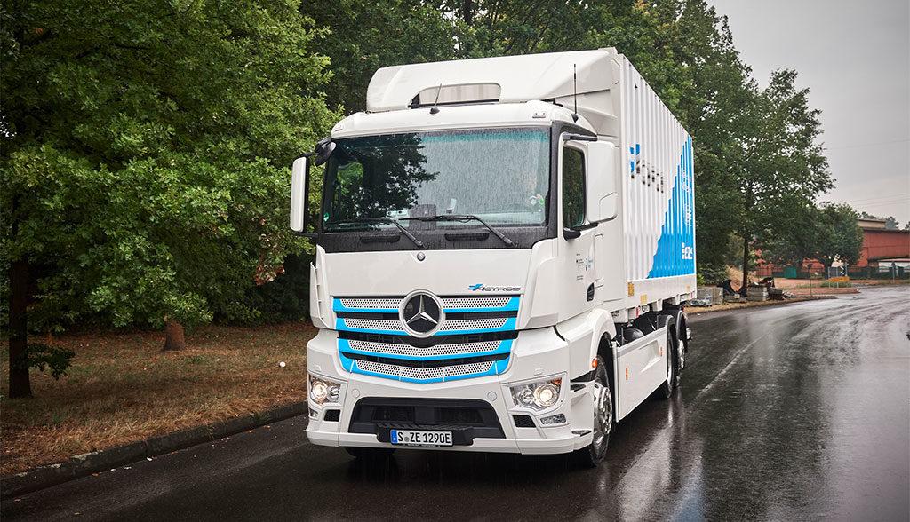 Mercedes-eActros-E-Lkw
