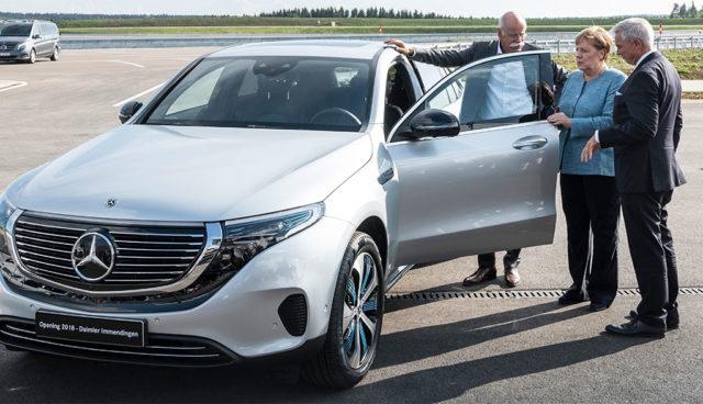 """Merkel über Elektroautos: """"Trotz aller Fortschritte dauern die Dinge etwas länger"""""""