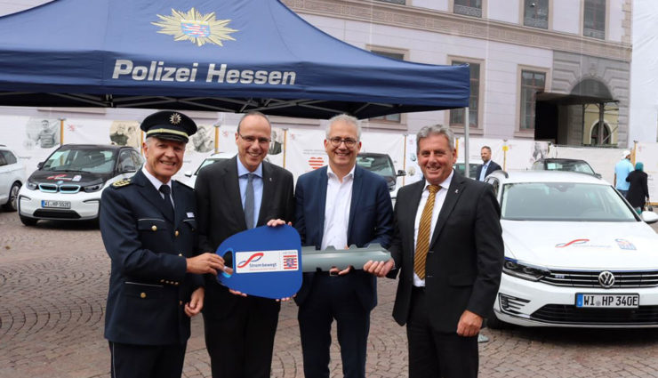 Polizei-Hessen-Elektroauto