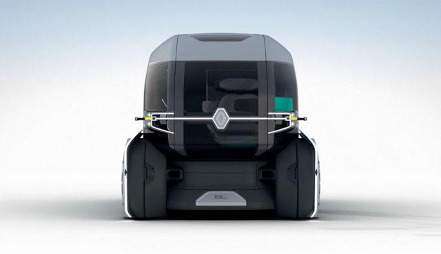 """Renault EZ-PRO: Autonom-elektrisches Logistikkonzept für die """"letzte Meile"""""""