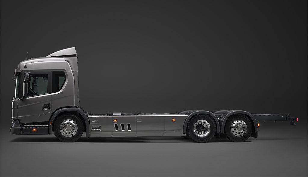 Scania-Elektro-Hybrid-Lkw