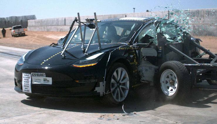 Tesla-Model-3-Crahstest-NHTSA-Sicherheit